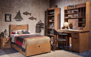 детская комната в ретро-стиле