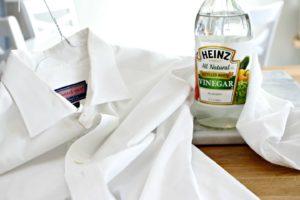 Чистка одежды уксусом