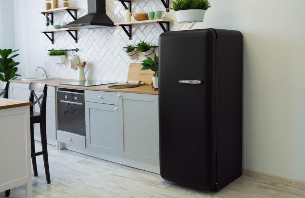 холодильник в ретро стиле