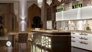 Арабский декор на кухне.