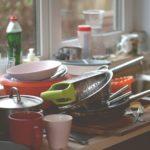 Посуда в мойке