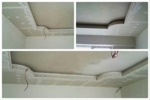 короб потолка
