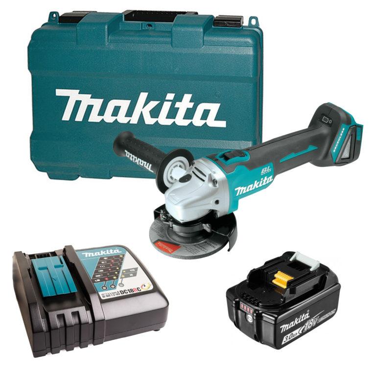 Makita DGA 504 RF, 18 В, 125 мм