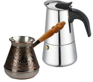 гейзерная кофеварка или турка