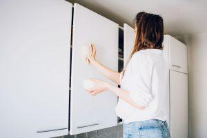 Мытьё кухонных фасадов