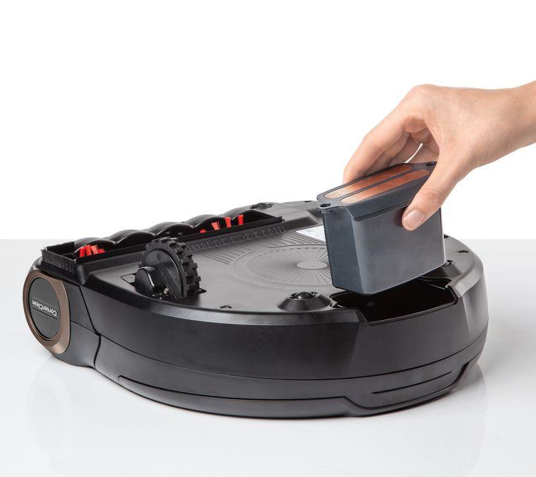 батарея робота пылесоса разряжается