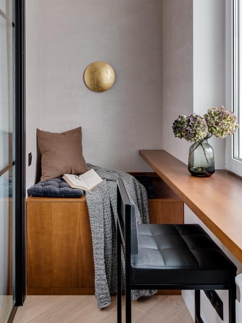 Балкон при спальне