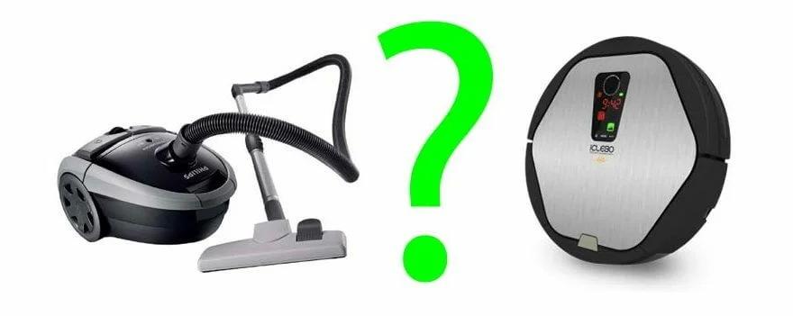 робот пылесос или обычный
