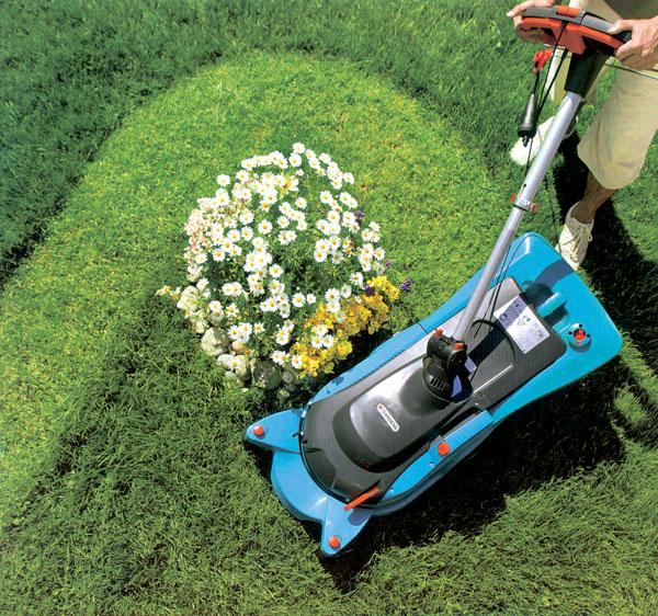 мульчирование газонокосилке