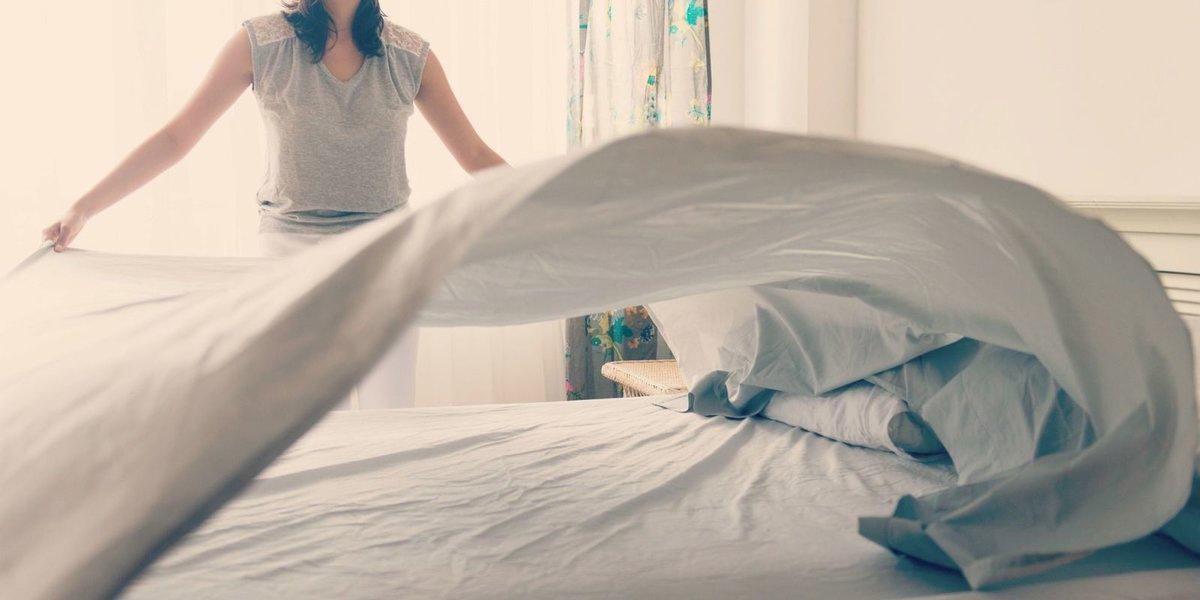 Заправлять постель