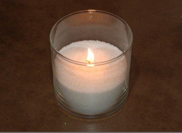 Новая свеча из огарков