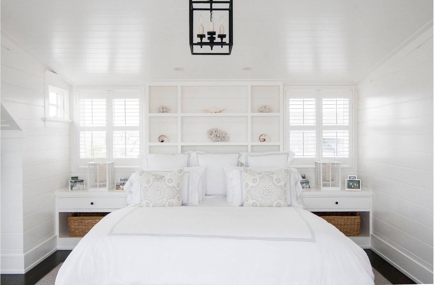 Белая спальня.
