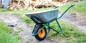тачка садовая одноколесная