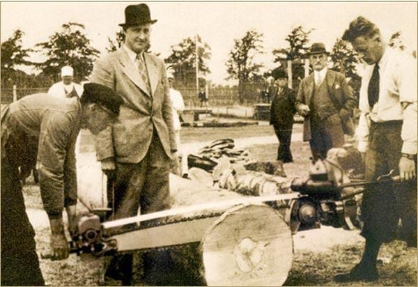 первая в мире бензопила
